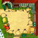 Bauernhofspielplan