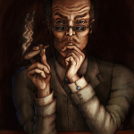 Prof. Moriarty, Illustration