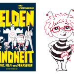 """""""Helden der Kindheit aus Comic, Film und Fernsehen"""": Cover der Lizenzausgabe für """"Edition Büchergilde"""""""