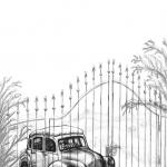 """Illustration zu: H. R. Wakefield """"Das Gespensterschloss"""""""