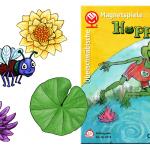 Coverentwurf und Illustrationen für Spielsteine