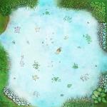 Spielplan Version 1: Zielhüpfen